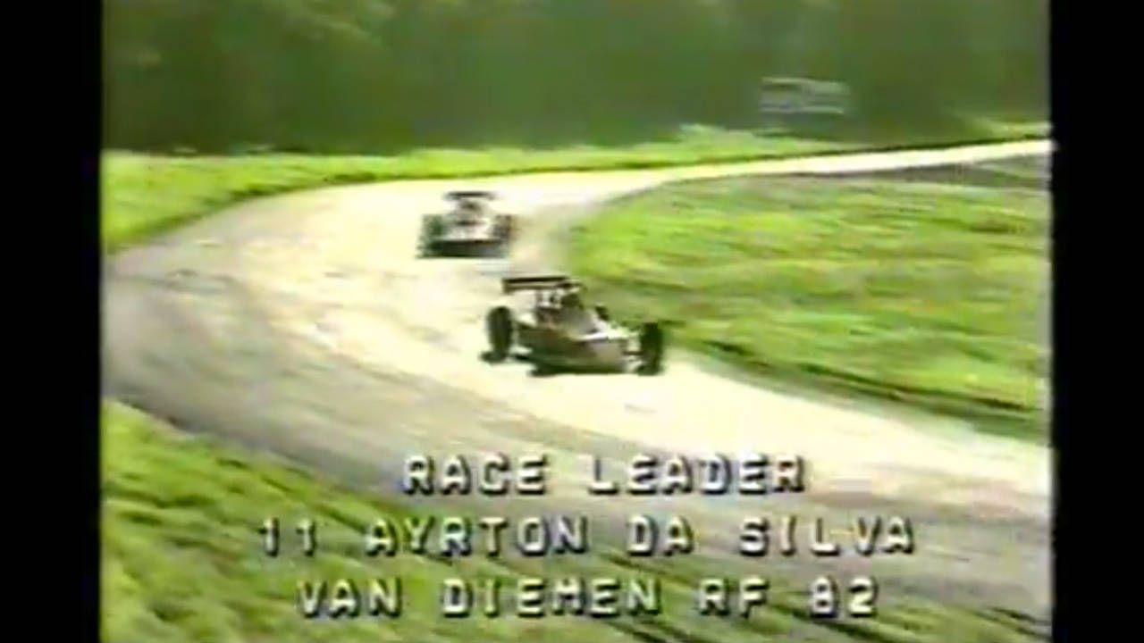 Unearthed! Rare video of Senna racing Formula Ford 2000 in 1982