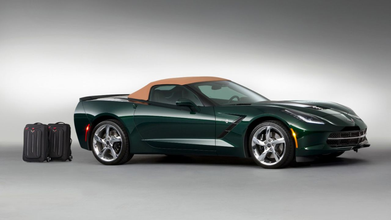 This is the 2014 Corvette Stingray Premiere Edition Convertible