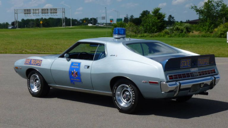 alabama state patrol amc javelin and cb radio buy this and this. Black Bedroom Furniture Sets. Home Design Ideas