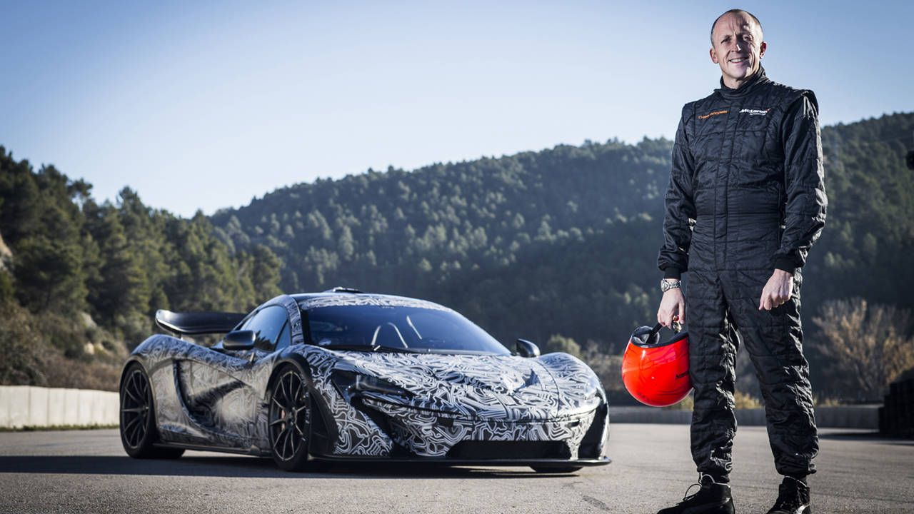 The McLaren P1 sets a 'Ring time, and there's video