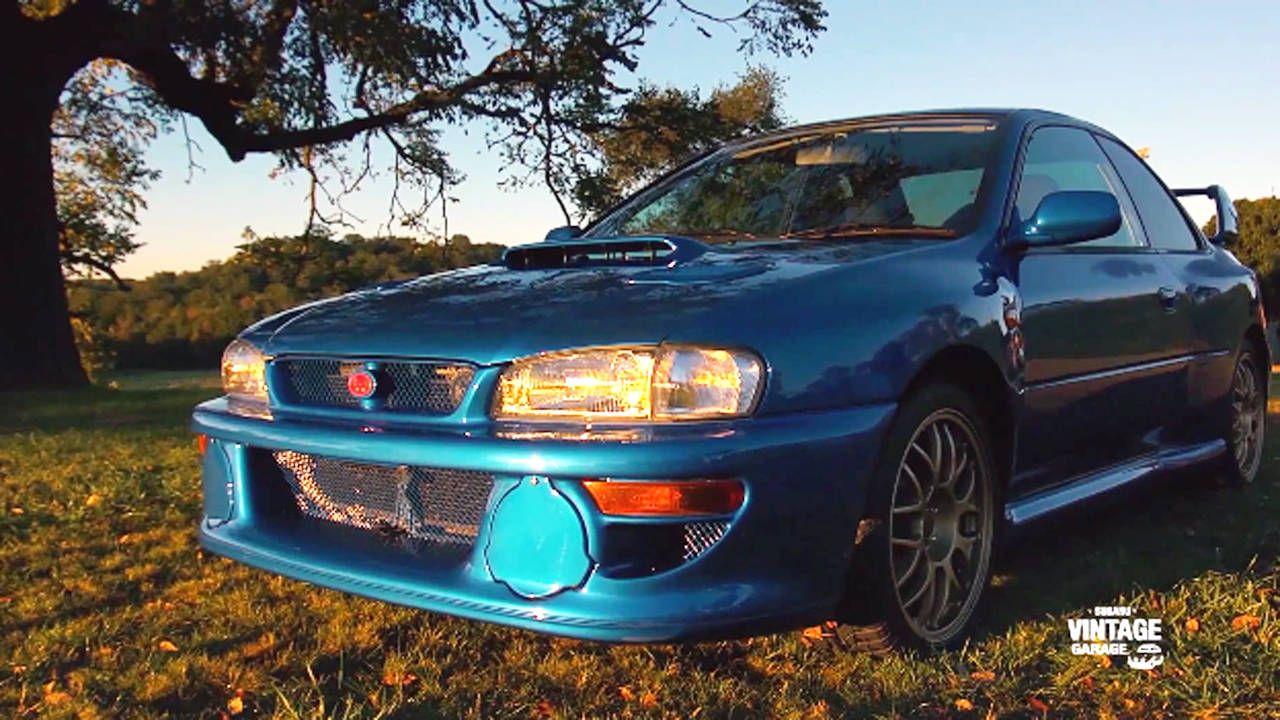 Subaru's vintage program shows off their 22B