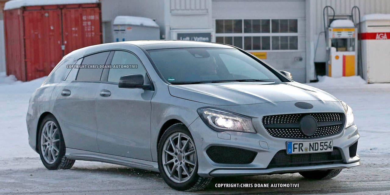 Photos: Mercedes-Benz CLA Wagon Shooting Brake (Wagon) Spied