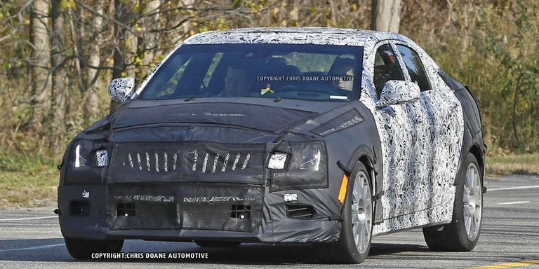 2014 Cadillac ATS-V Spy Shots - Photos