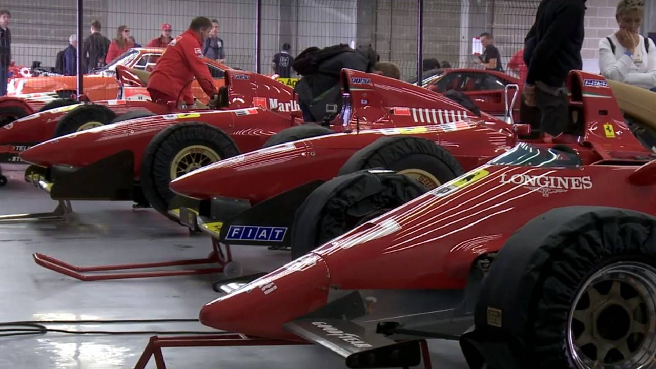 Classic V12 Ferrari F1 Cars at Spa are better than coffee