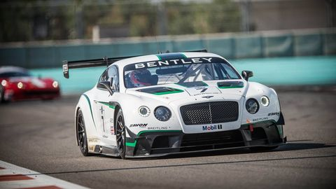 Bentley Continental Gt3 Podium Finish Race Cars