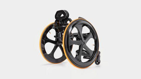 Rim, Auto part, Spoke, Automotive wheel system, Alloy wheel, Circle, Iron, Machine, Rolling, Crankset,