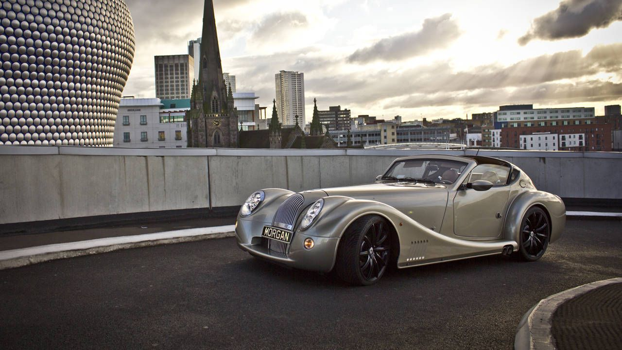 Buy this Morgan Aero Supersports and a Dutch wooden hot tub