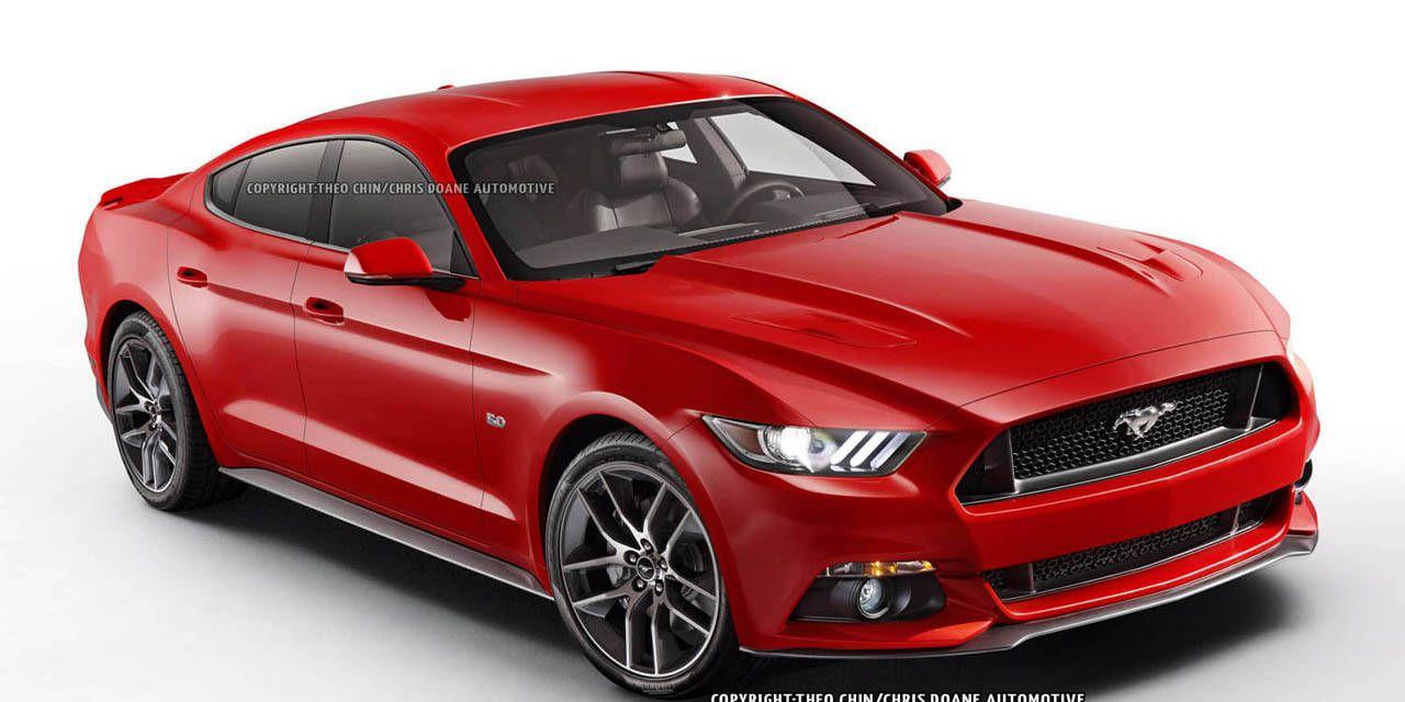 Photos: 2014 Ford Mustang Sedan