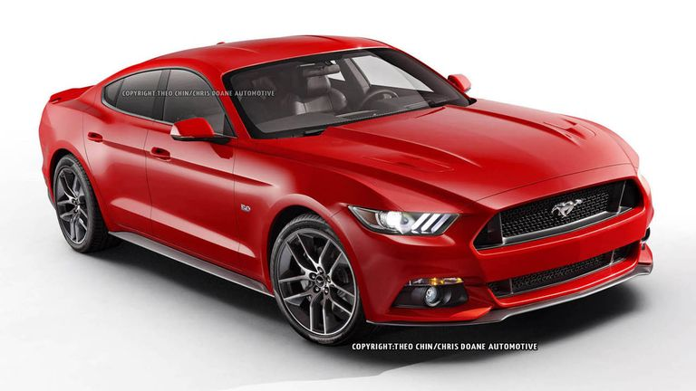 This Is The Four Door Mustang Ford Will Never Build