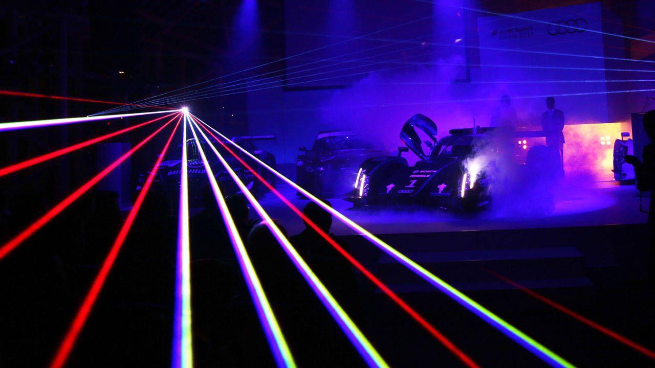 & Audi Gives the R18 E-Tron Laser Lights - News