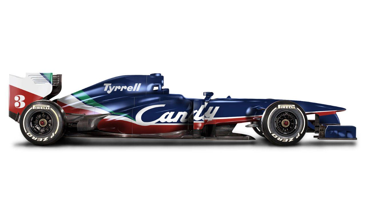 Check out more retro liveries on modern F1 cars
