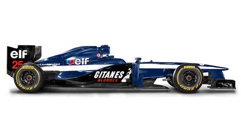 Automotive design, Automotive tire, Open-wheel car, Automotive exterior, Automotive wheel system, Rim, Logo, Formula one, Auto part, Formula one car,