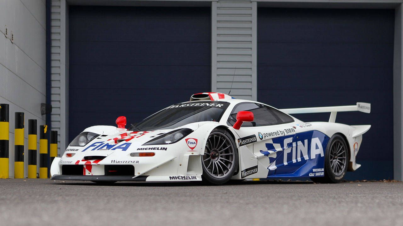 The FINA '97 McLaren F1 GTR Longtail is going up for sale