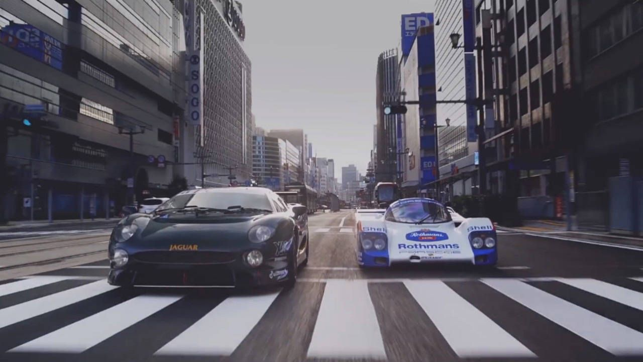 Guys driving Le Mans cars on the road because they can