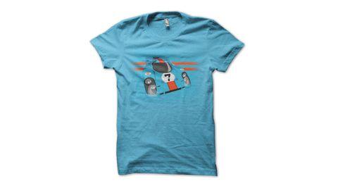Blue, Product, Sleeve, Sportswear, T-shirt, Aqua, Teal, Baby & toddler clothing, Logo, Turquoise,