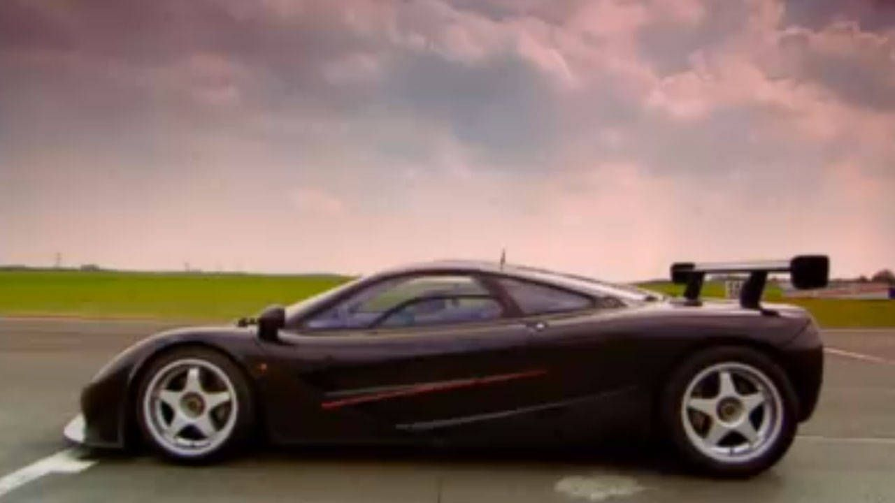 Murray Walker road testing a McLaren F1 is better than coffee
