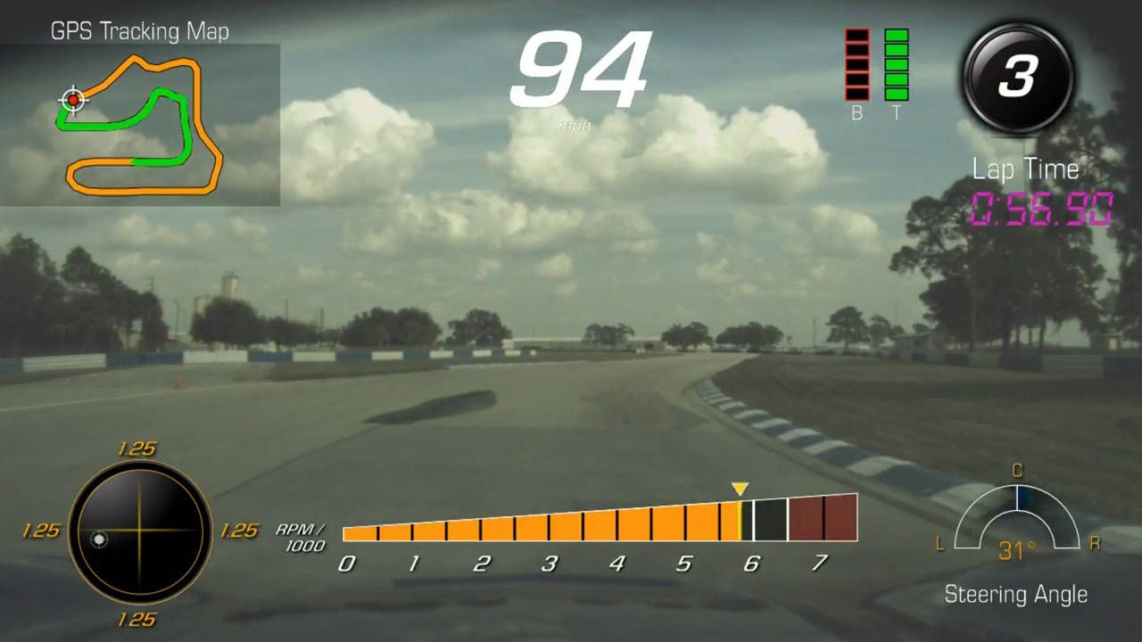 The 2015 Corvette's dash cam is insanely powerful