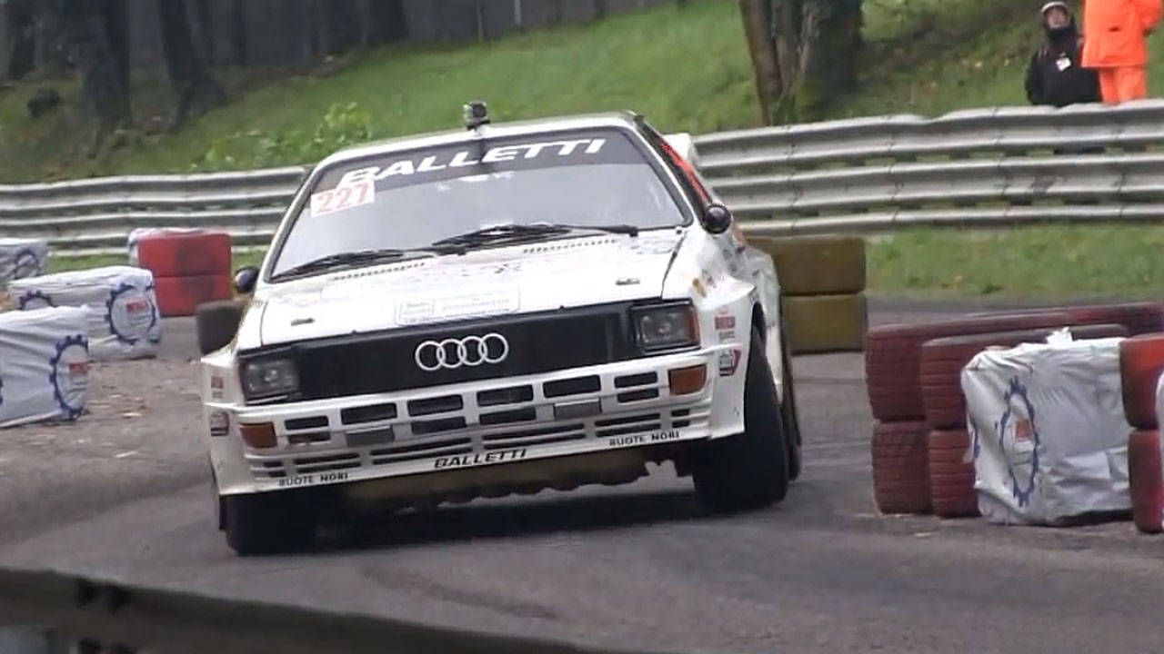 The Audi Ur-Quattro never stops sounding awesome