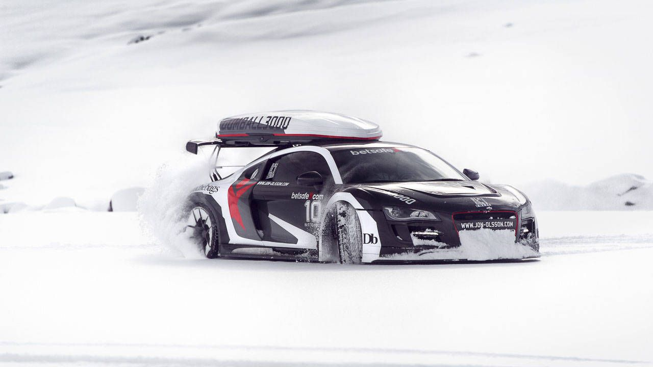 Arctic Exotics: Jon Olsson's ski-ready supercars