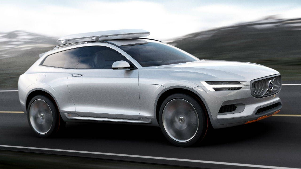 Volvo's Concept XC Coupé shooting brake is coming to Detroit