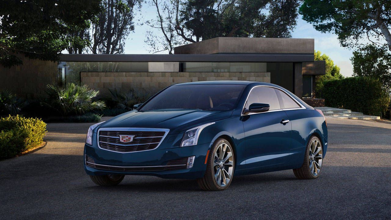 First Look: 2015 Cadillac ATS Coupe