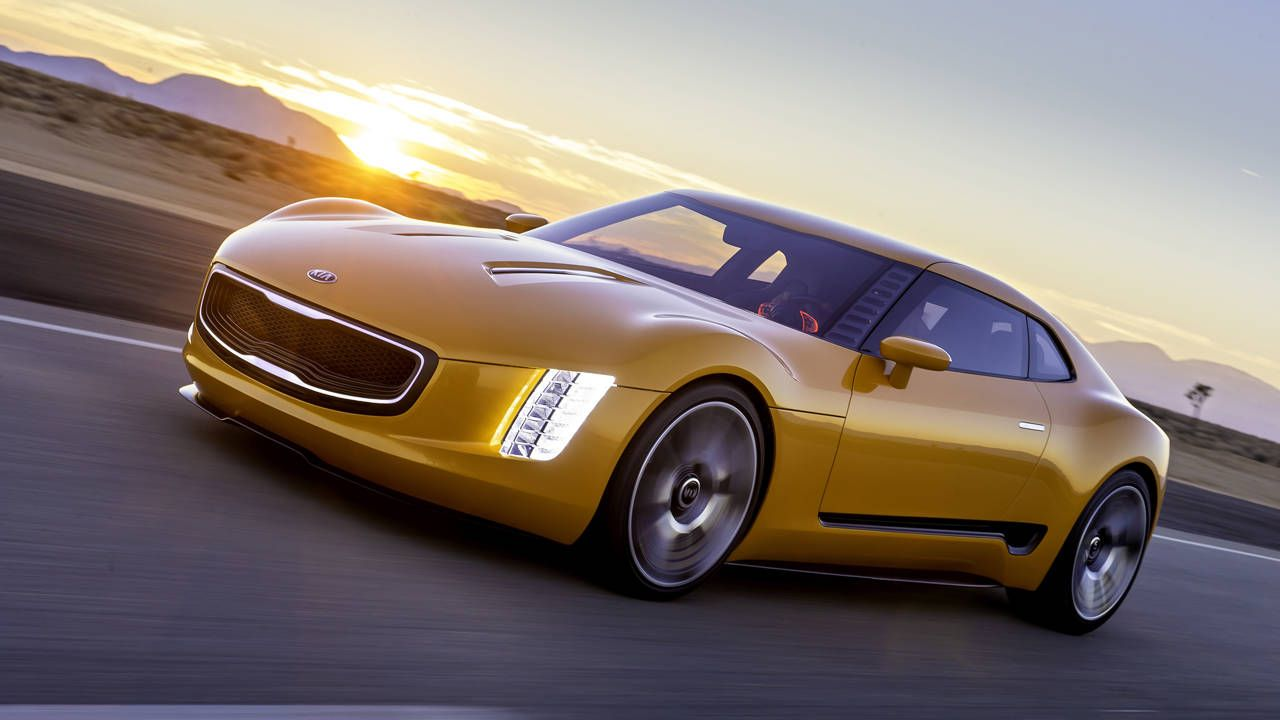 Kia's GT4 Concept wants to be a driver's car