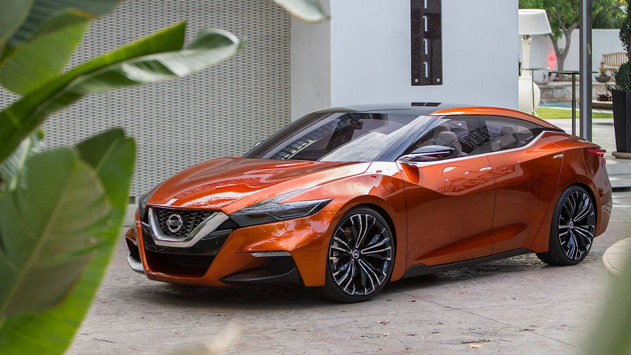 Nissan's new sport sedan concept debuts at Detroit
