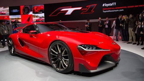 Toyota Ft 1 >> Toyota Ft1 Concept 2014 Naias In Detroit