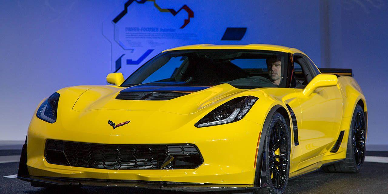 Photos: 2015 Chevrolet Corvette Z06 at NAIAS