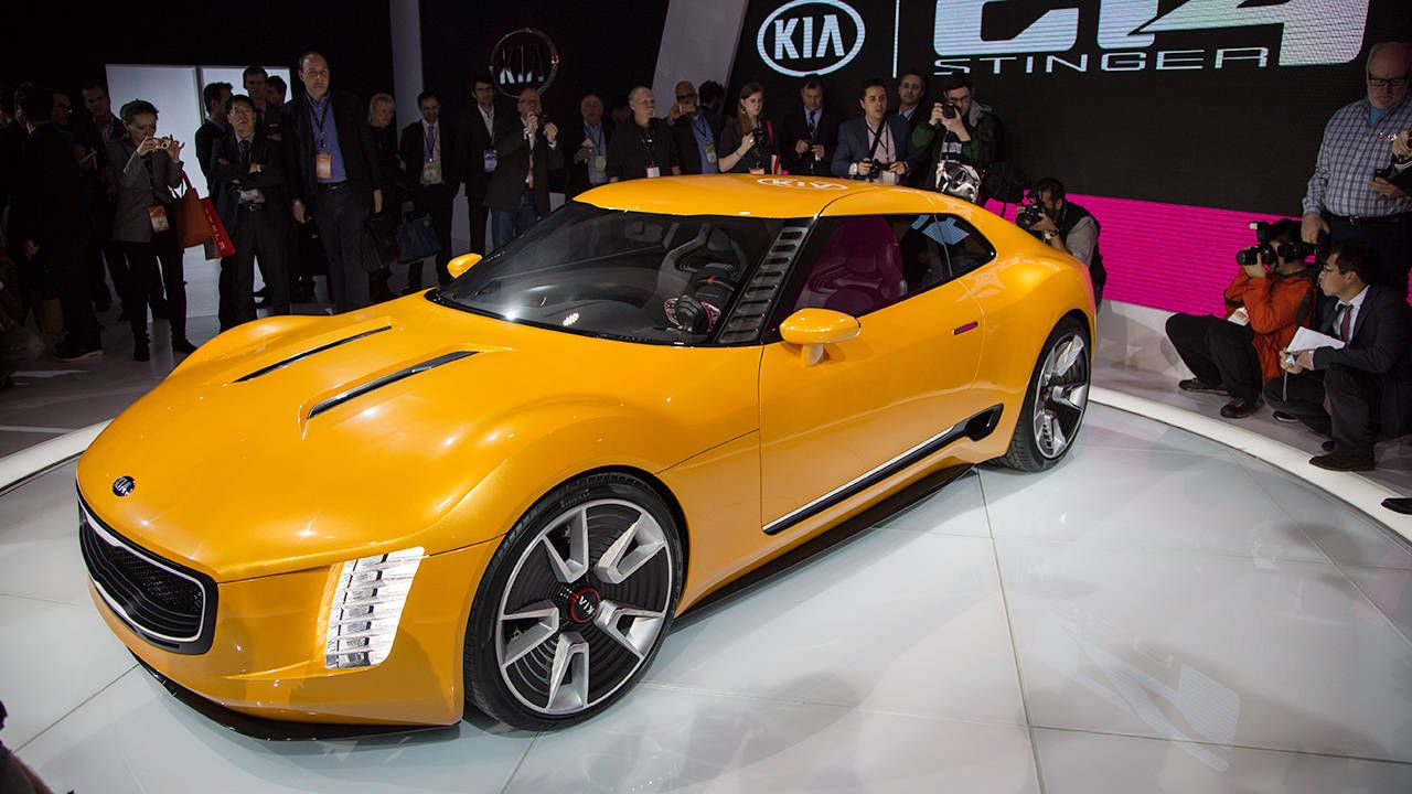The Kia GT4 Stinger Concept is better than coffee