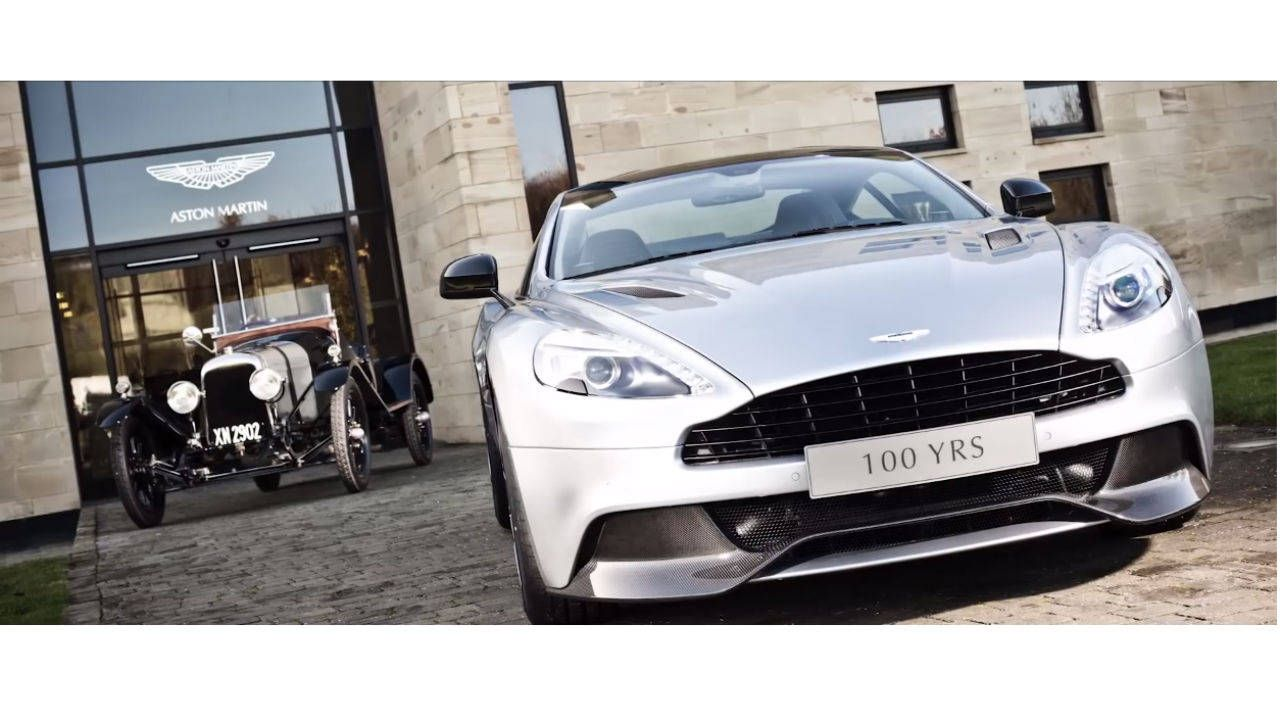 Aston Martin wraps up 100-year celebration with a slick new video