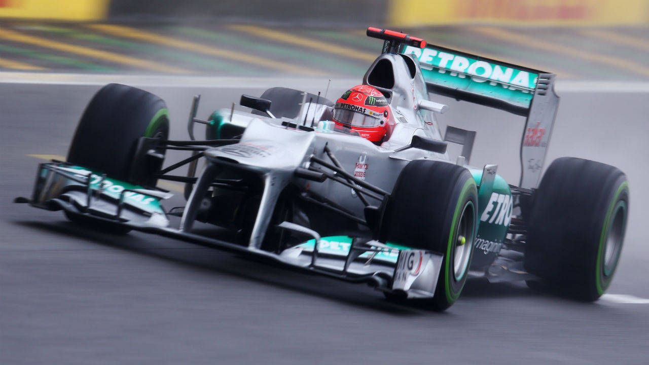 Is the 2014 Mercedes-Benz F1 car better than coffee?