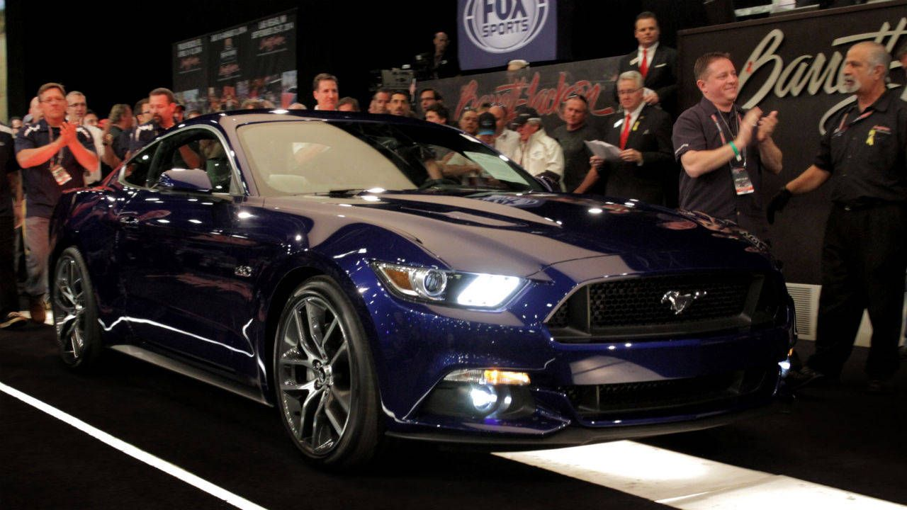 First production 2015 Mustang sells for $300,000