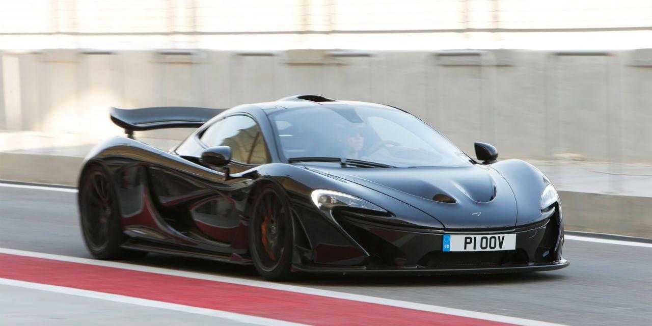 Photos: McLaren P1 First Drive