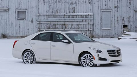 2014 cadillac cts 3.6 performance - drive notes