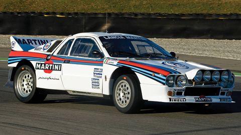 1983 lancia 037 rally car