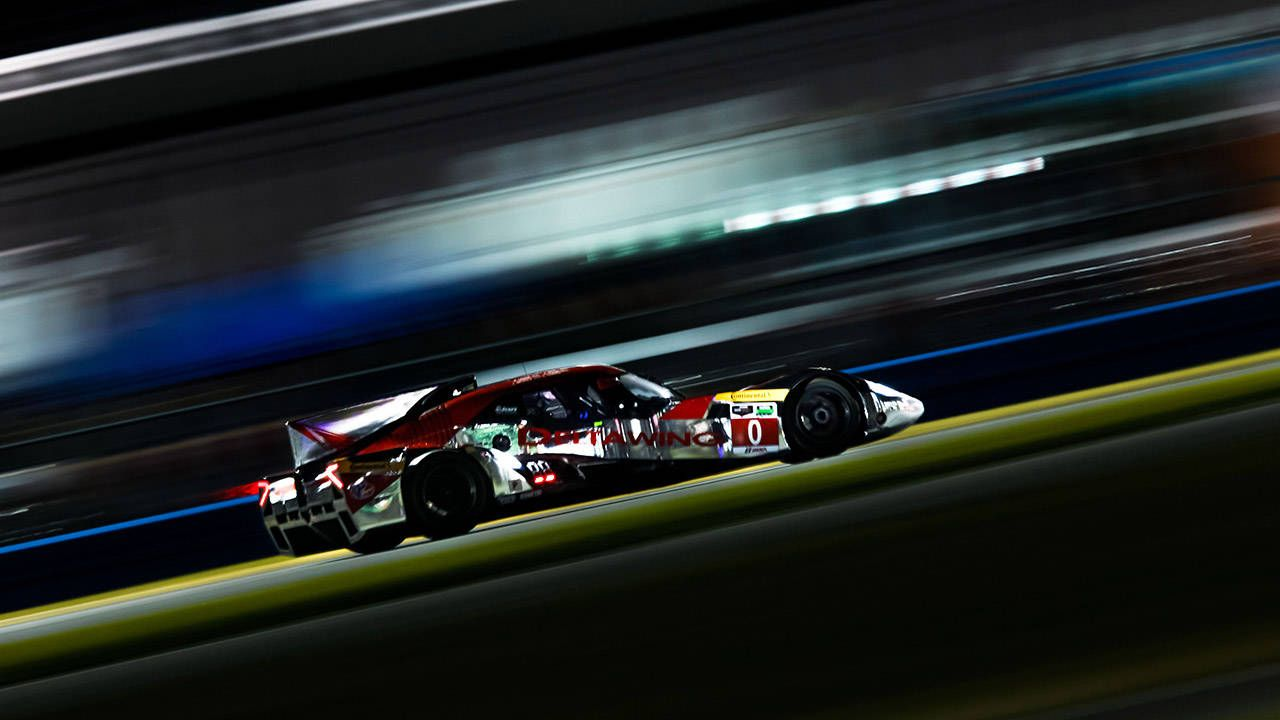 Another lap at Daytona in the DeltaWing is better than coffee