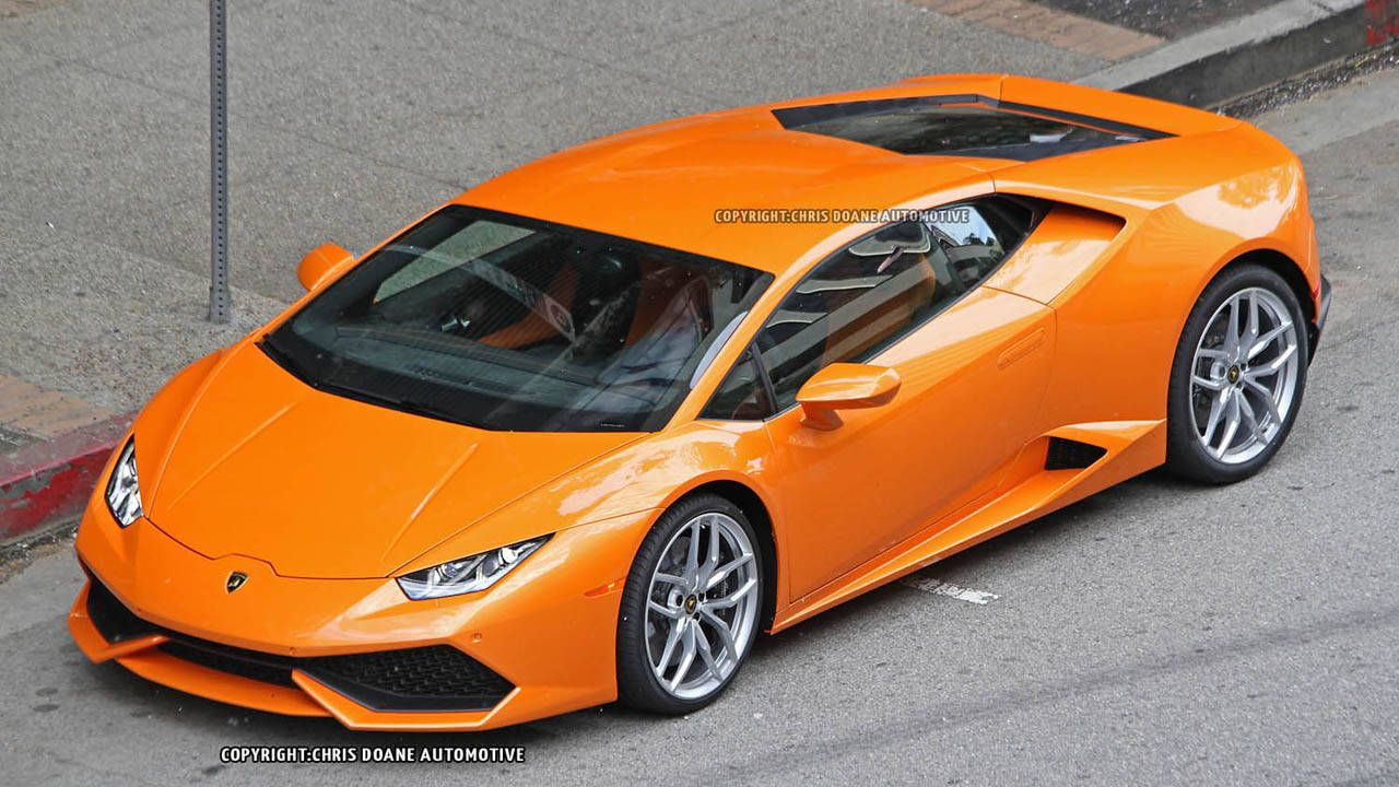 Spied! The Lamborghini Huracan hits the street