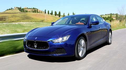 Abusing a 2014 Maserati Ghibli S Q4 - Road Test
