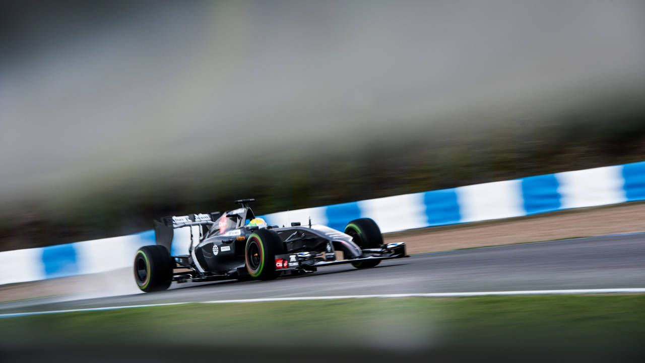 Watch and hear 2014 Formula 1 testing from Jerez