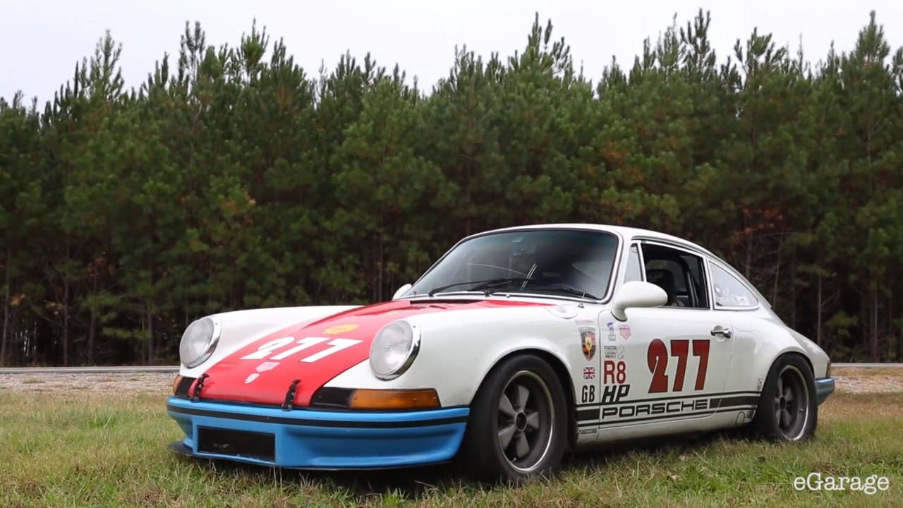 Magnus Walker headed to the south in all his 911-loving glory