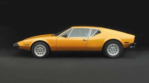 Land vehicle, Vehicle, Car, Sports car, Classic car, Coupé, De tomaso pantera, Supercar, Automotive design, Sedan,