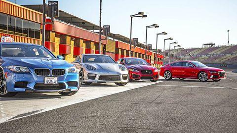 V8 Supercars Sedan Showdown Comparison Tests