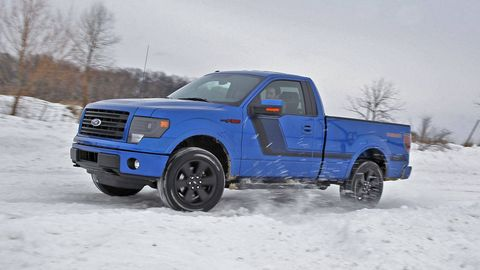 F 150 Tremor >> 2014 Ford F 150 Tremor Winter Snow Test Performance Test
