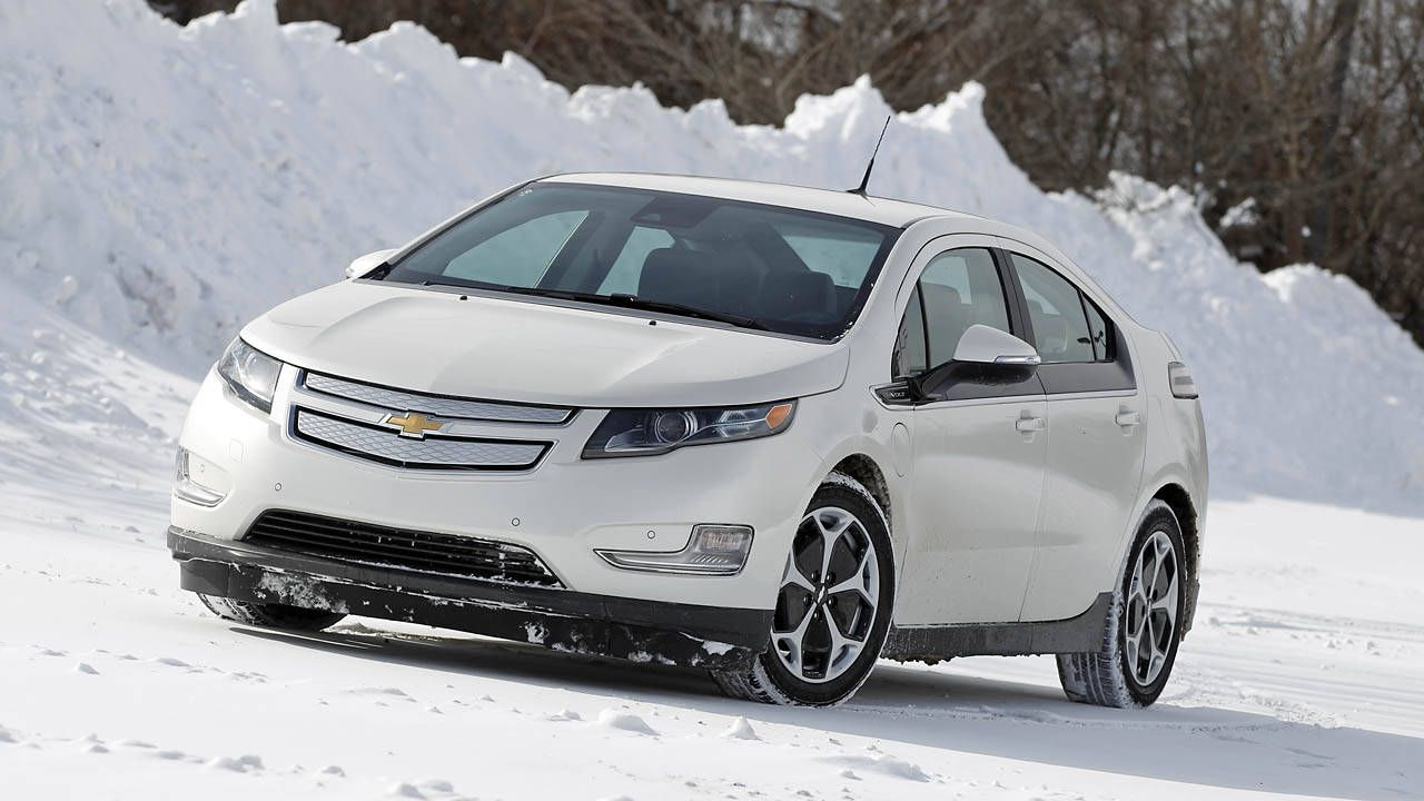 2014 Chevrolet Volt Drive Notes