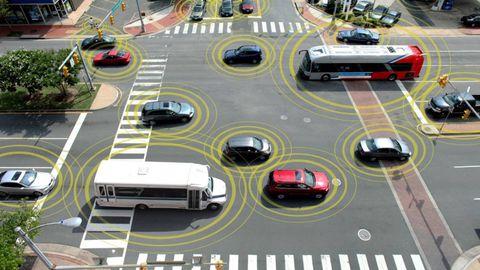 Motor vehicle, Mode of transport, Automotive design, Automotive exterior, Automotive parking light, Road, Street, Automotive lighting, Bumper, Auto part,