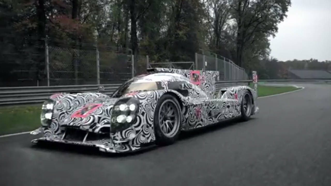Watch Porsche prepare its team and 919 Hybrid LMP1 for Le Mans