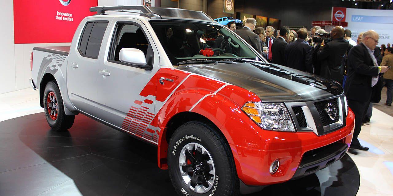 Show Floor Photos: Nissan Frontier Diesel Runner concept