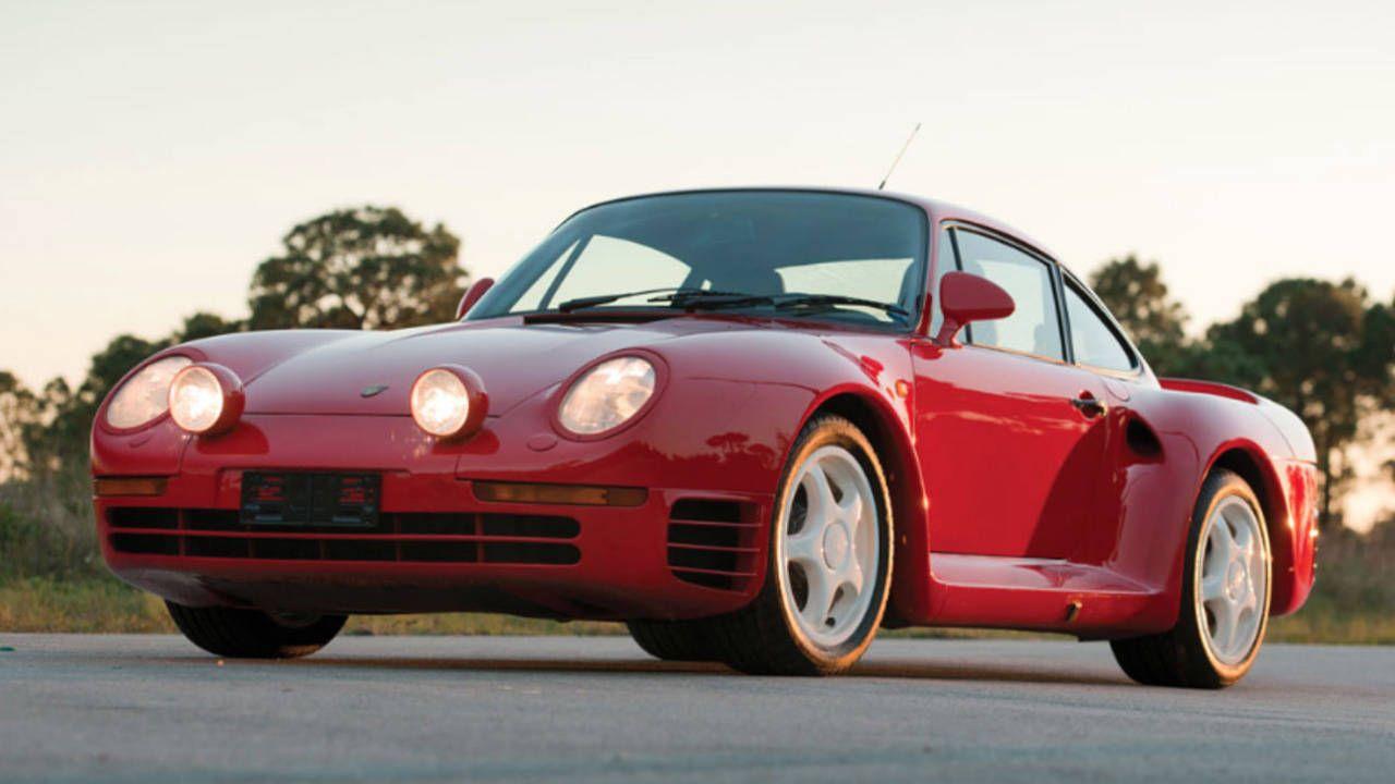 Buy this Porsche 959 and this carbon-fiber race helmet