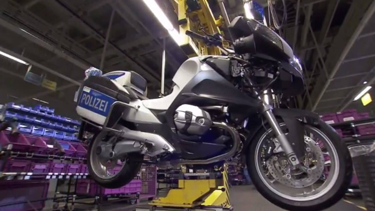 This is where BMW motorcycles are made